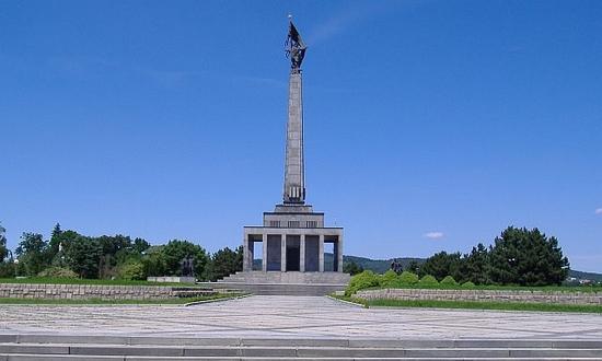 Slavin, monumento ai caduti sovietici