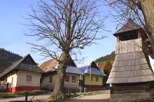 Vlkolinec,villaggio Unesco vicino a Ruzomberok