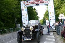 auto storiche nella Veteran Tatra Rally