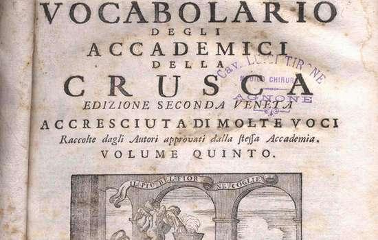crusca lingua italiana