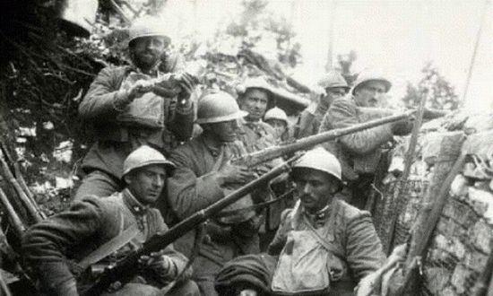 legionari cecoslovacchi sul piave