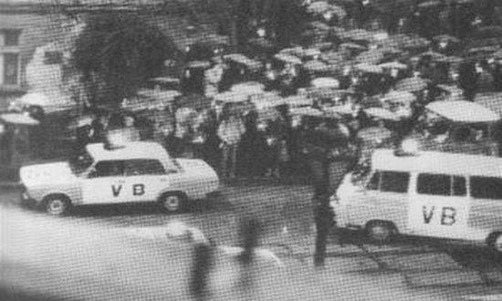 manifestazione delle candele, 25-3-1988
