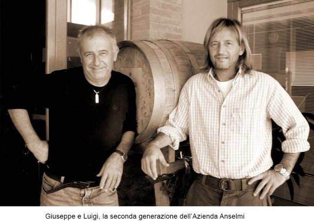 Reguta - druhá generace Giuseppe a Luigi - dnešní majitelé vinařství