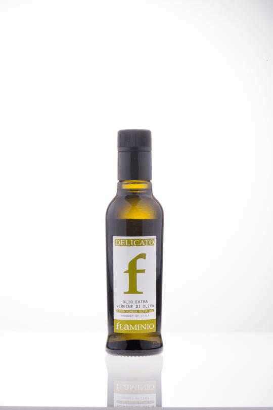 100% italský extra panenský olivový olej Flaminio Delicato 250 ml