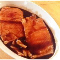 Filetti di salmone glassati