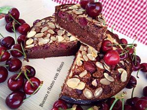 Clafoutis di ciliege al cacao integrale