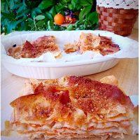 Sformato di pane Carasau e zucca