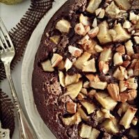 Plumcake cacao e pere