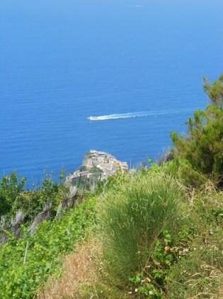 Vista dalle Cinque Terre