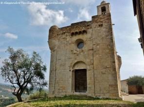 Valle del San Lorenzo Chiesa- Fortezza San Pietro a Lingueglietta