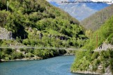 Ponte Tibetano sospeso a Vagli Sotto