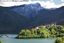 Panorama su Vagli Sotto in Garfagnana