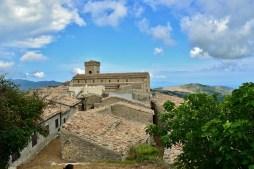 Vista dei tetti di Montalbano Elicona