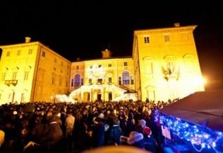 Presepi in Piemonte - Govone castello a natale