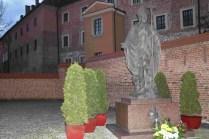La statua di San Giovanni Paolo II