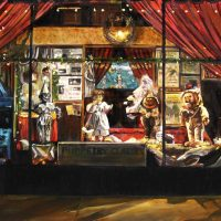 Puppet Theater at Night