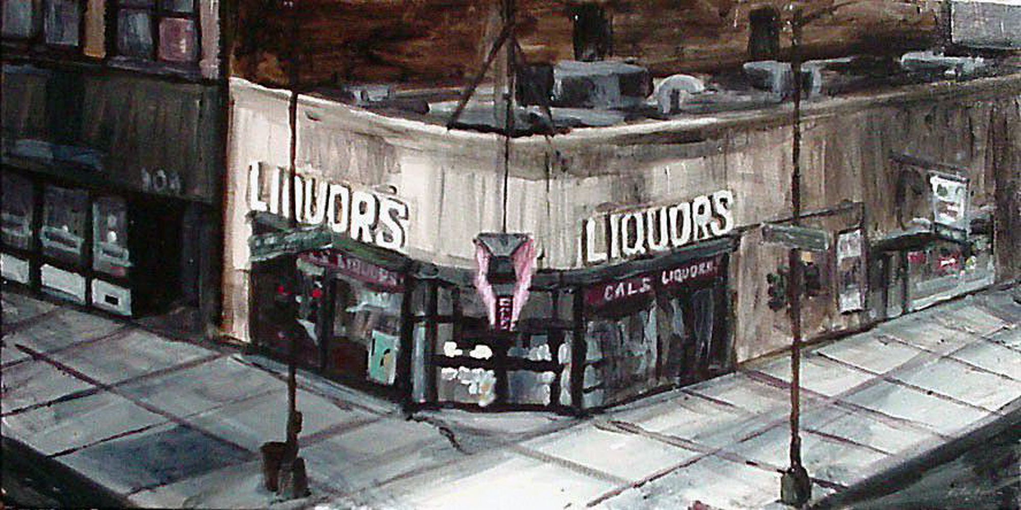 Liquor Store Viewed From El