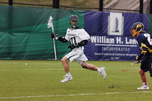 Binghamton men's lacrosse overpowered by Vermont in season ...