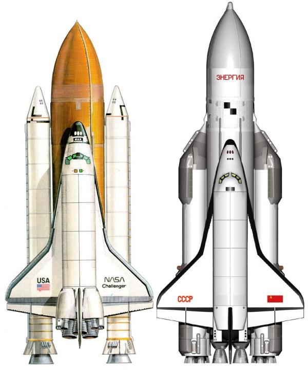 Buran Space Shuttle vs STS - Comparison