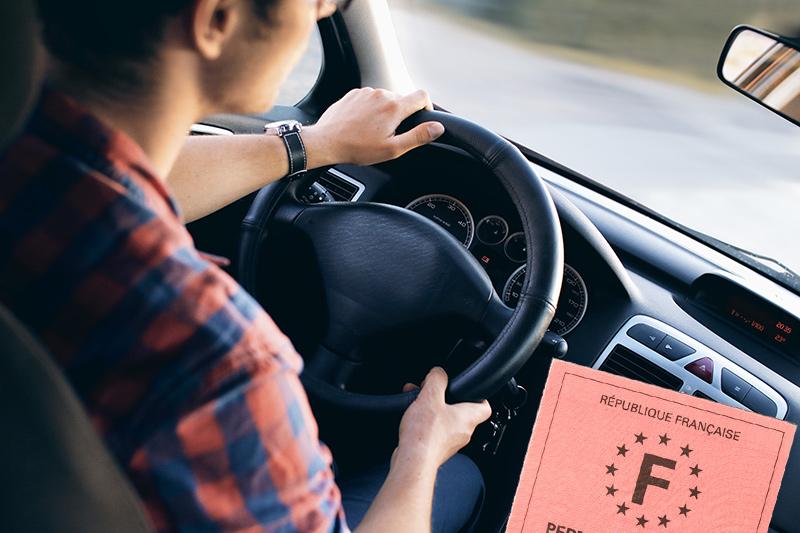Conduite et permis de conduire français
