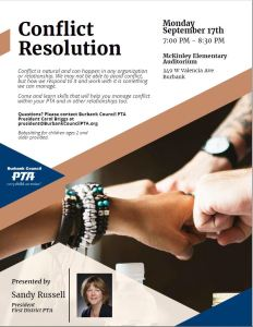 Conflict Resolution Flyer