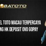 Situs Togel Toto Macau Terpercaya Hongkong HK Deposit OVO GOPAY