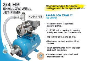 Burcam  WATERIN PUMPS AND SYSTEMS  SW STAINLESS STEEL