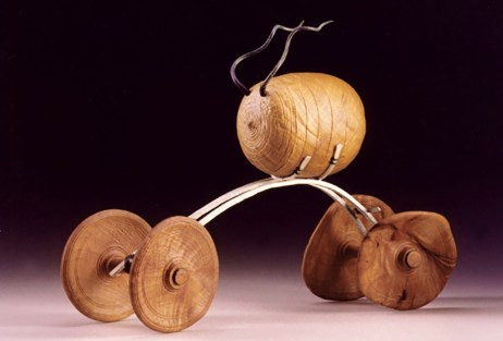 """16"""" x 19"""" x 5"""" Madrone Burl, Silver, Copper (Available for Purchase)"""
