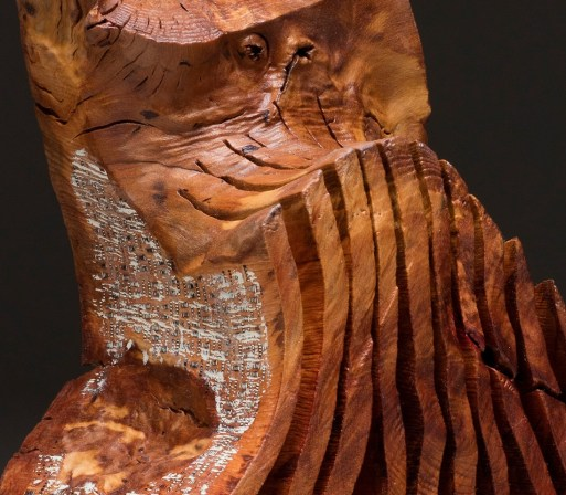 """17"""" x 16"""" x 7"""" Madrone Root '15"""