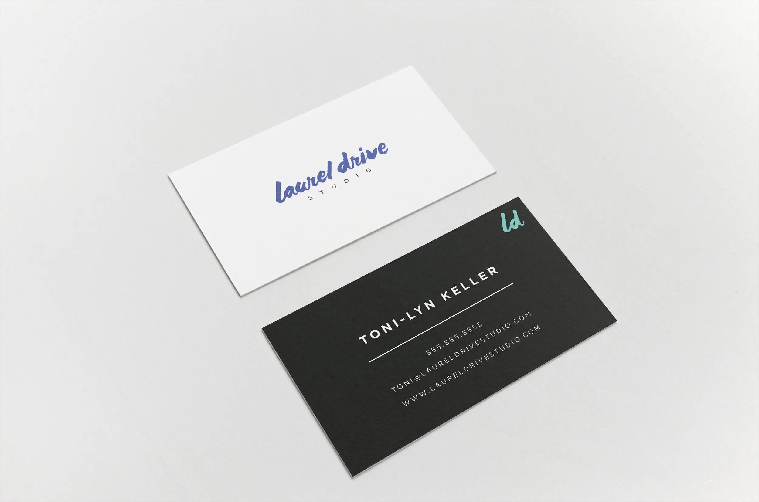 Laurel Drive Photography Studio Branding - 8