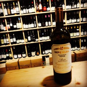 Imperial réserva 2009 Rioja (2)