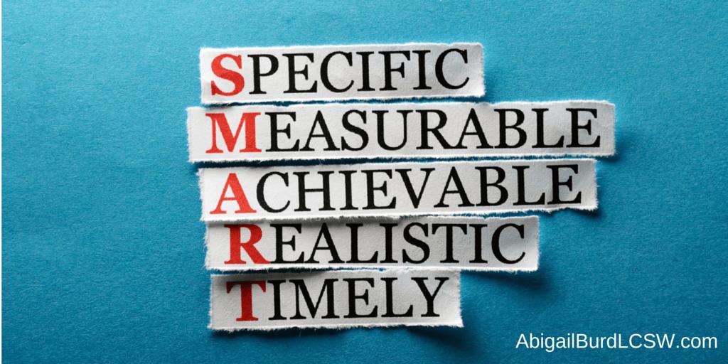 SMART goals (acronym)