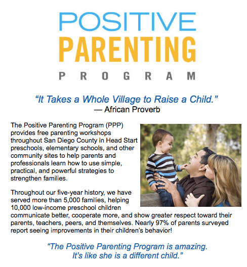 positive parenting in san diego