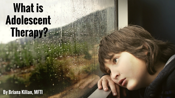 What is adolescent therapy?