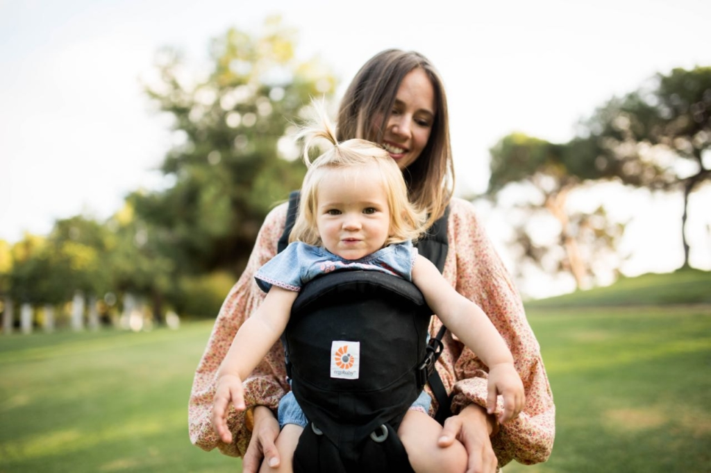 Ergobaby Omni 360 forward facing baby carrier