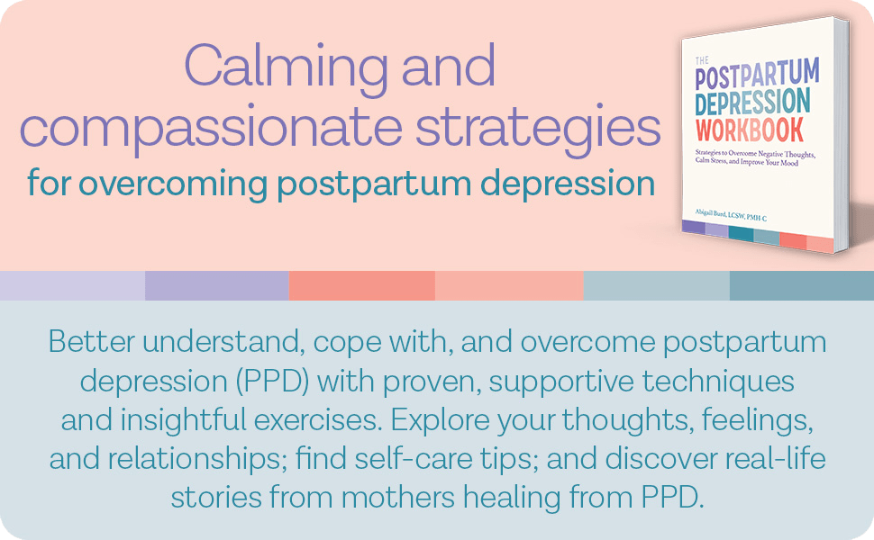 Postpartum Depression Workbook Description