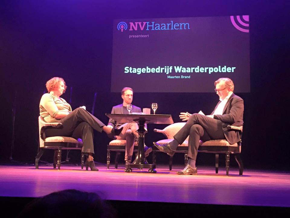 Maarten lezing over stagebureau Waarderpolder