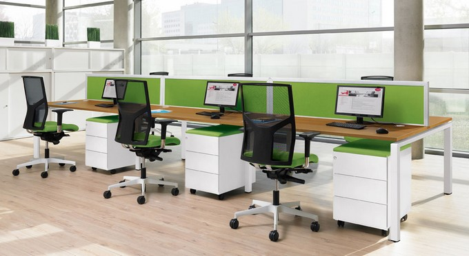 mobilier de bureau bench connect eol business