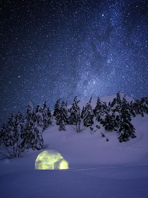soirée en igloo