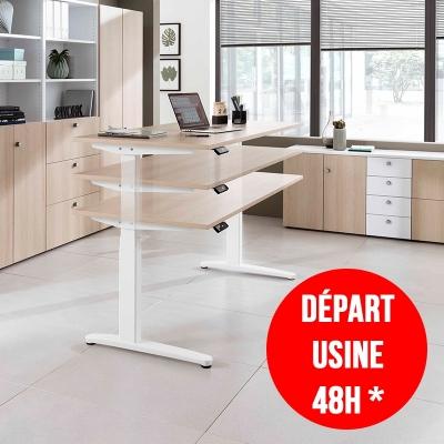 Interior meuble bureau position assise et debout hd images