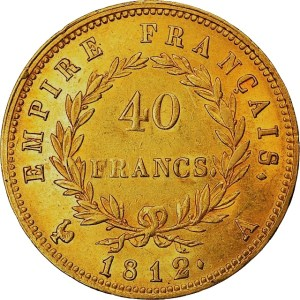 40 Francs or Napoléon I double louis d'or
