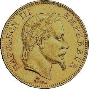 100 Francs or Napoléon 3 quadruple louis d'or