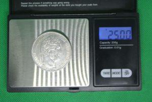 Vraie pièce de 5 francs argent Louis-Philippe