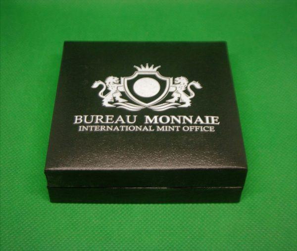boite bureau monnaie 5 francs argent