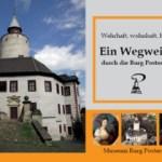 Un guide à travers du château de Posterstein