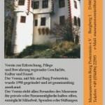 Faltblatt Museumsverein Burg Posterstein