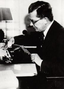 Der Schriftsteller Hans Fallada schrieb oft bis zur Erschöpfung