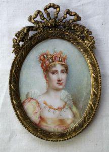 Miniatur Josephine Bonaparte (Museum Burg Posterstein)