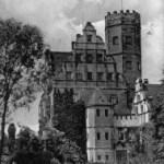 2010 standen Rittergüter im Fokus der Museumsarbeit - Hier zu sehen ist das Schloss Windischleuba auf einer historischen Ansichtskarte