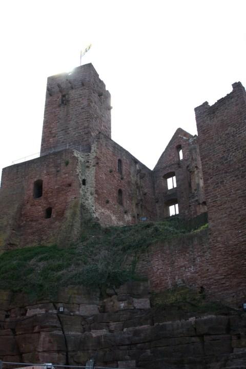 wertheim Burg Parzival Wolfram von Eschenbach Burg Burgruine Ruin